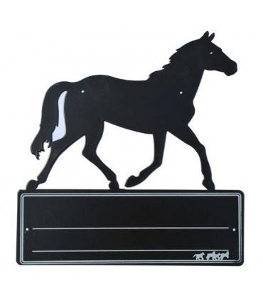 Plaque d'écurie cheval - HKM