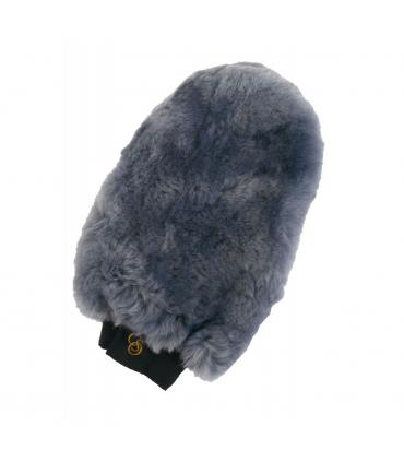 Gant de pansage C.S.O en mouton véritable