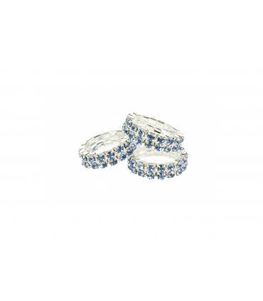 Elastique Crystal à natter - HKM lot de 5 pièces