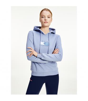 Sweatshirt dame avec capuche - Tommy Hilfiger
