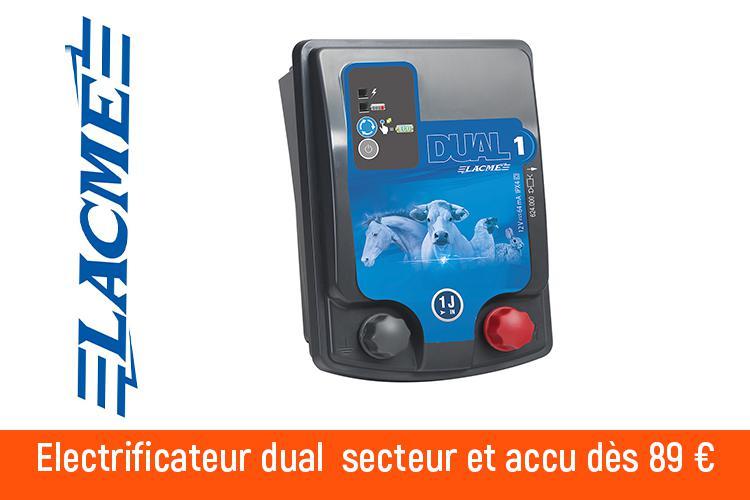 Electrificateur Dual Lacmé